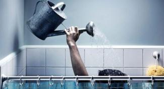 Что делать, если отключают воду