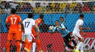 1/4 финала ЧМ 2014 по футболу: Нидерланды - Коста-Рика