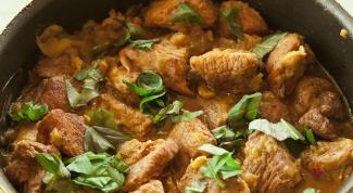 Как приготовить свинину с базиликом