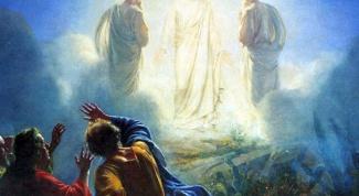 Как происходило преображение Иисуса Христа