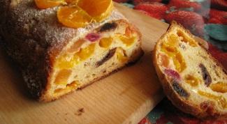Как приготовить кекс с мандаринами