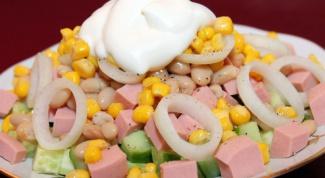 Как приготовить салат из того, что есть в холодильнике