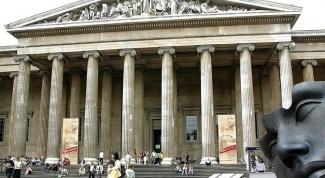 Британский музей - достопримечательность Лондона