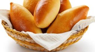 Печеные пирожки с картофелем и луком