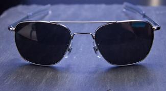 Как поменять стекло в солнечных очках