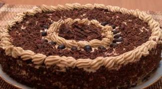Готовим кофейный торт