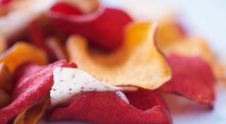 Как приготовить свекольные чипсы