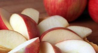 Как замораживать яблоки дольками