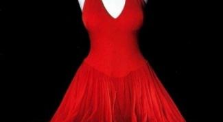 Шелковые платья: особенности ухода