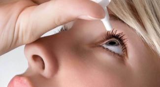 Как убрать соринку из глаза