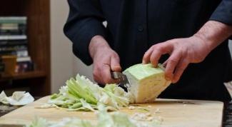 Как шинковать капусту