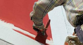 Как нанести штукатурку или краску на фасад дома