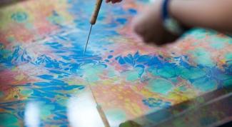 Как рисовать на воде
