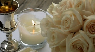 Как сделать свадебные свечи