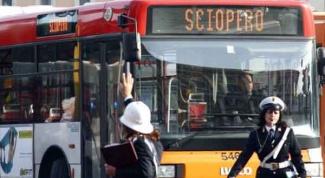 Что такое итальянская забастовка