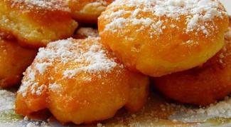 Как приготовить пончики с лесными грибами