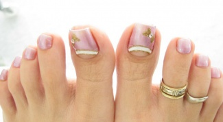 How to fix the shape of the toenails