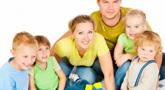 What benefits is based on a large family