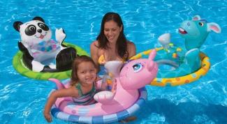 Как выбрать детский круг для плавания
