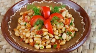 Как тушить фасоль с овощами