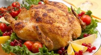 Как пожарить курицу