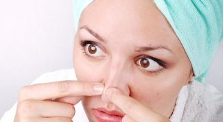 Чем очистить поры на носу
