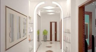 Как визуально увеличить ширину коридора