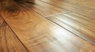 Чем покрыть деревянный пол