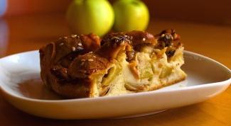 Как сделать яблочный пирог в хлебопечке