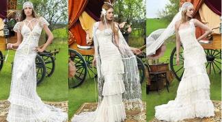 Винтажное свадебное платье