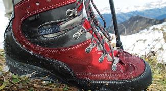 Как выбирают треккинговую обувь