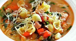 Итальянская кухня: как приготовить минестроне