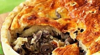 Рецепт с субпродуктами: пирог с куриными потрошками