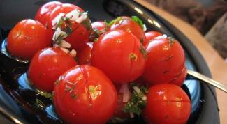 Как засолить помидоры в пакете