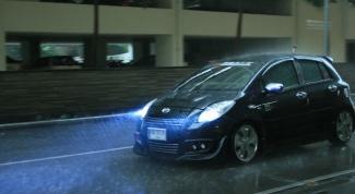 Аквапланирование автомобиля