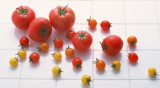 Как украсить салат помидорами