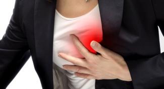 Приступ стенокардии: симптомы