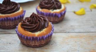 Как испечь кофейные капкейки с шоколадным кремом
