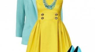 Бирюзовый цвет в одежде: с чем сочетать