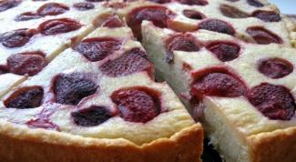 Cooking pie from frozen strawberries