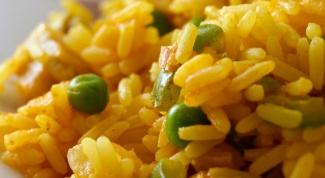 Как приготовить рис с тыквой