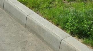 Бортовые камни: характеристика, виды и технология строительства