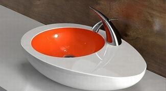 Накладная раковина для ванной: красиво и стильно