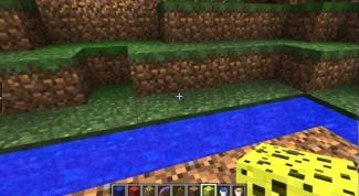Зачем в Minecraft нужна губка