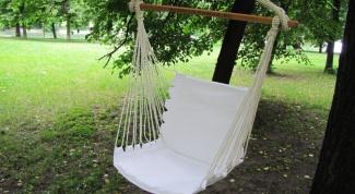 Кресло-гамак: плюсы и минусы