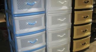Комод пластиковый –  практичное решение для дома