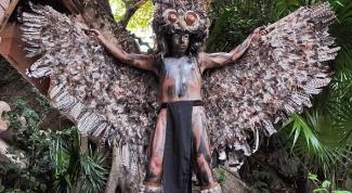 Как сделать костюм совы  своими руками