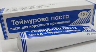 Паста Теймурова: применение и эффективность