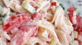 Рецепты салатов с отварной рыбой