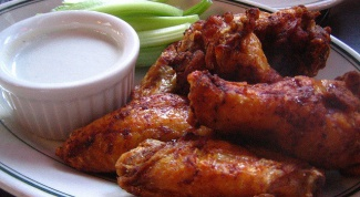 Recipe Buffalo wings baked in the oven